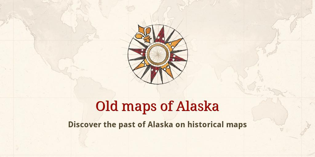 Old maps of Alaska