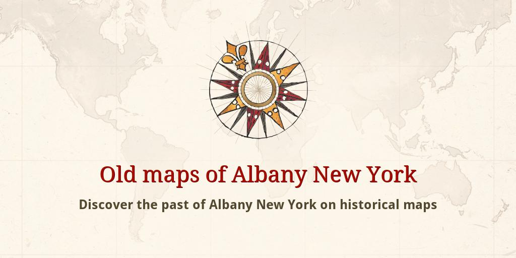Old maps of Albany