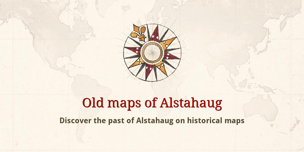 Old Maps Of Alstahaug