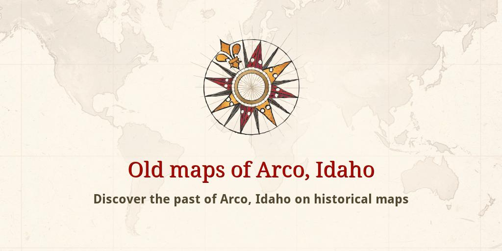 Old Maps Of Arco