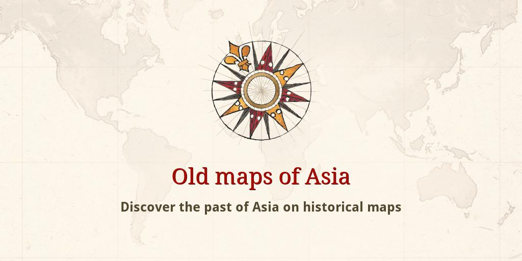 Map Of Asia 1930.Old Maps Of Asia