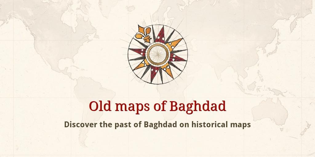 Old maps of Baghdad
