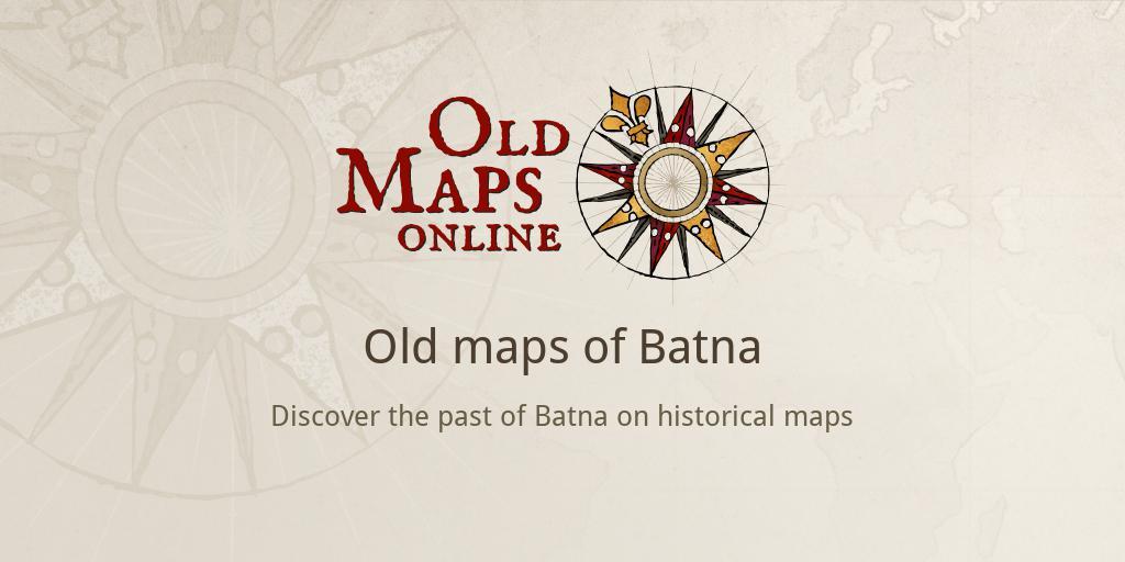 Old maps of Batna