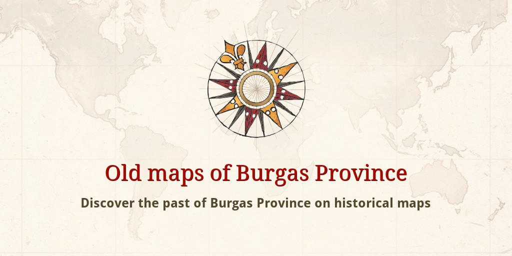Old Maps Of Burgas