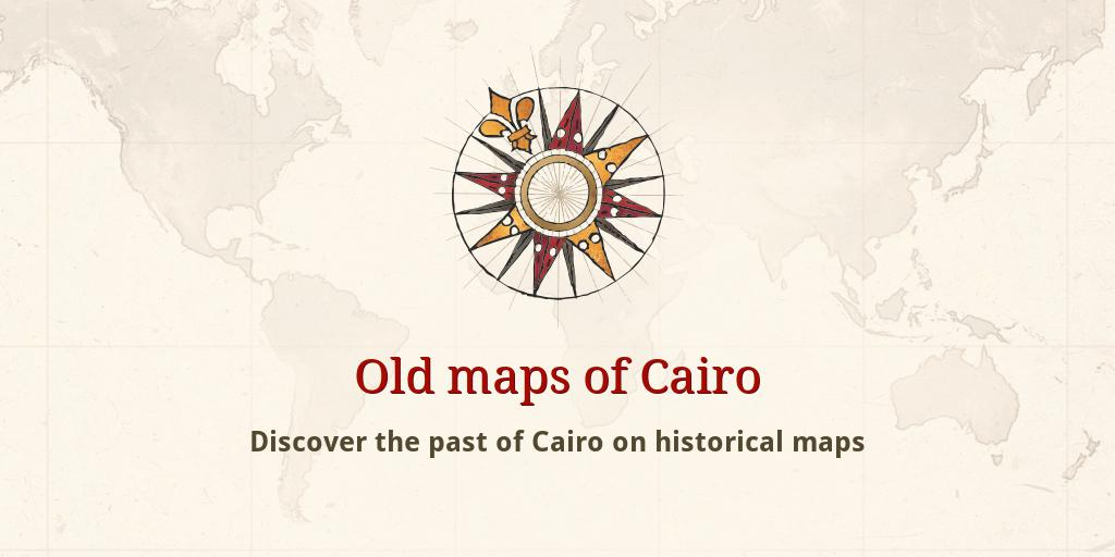 Old maps of Cairo