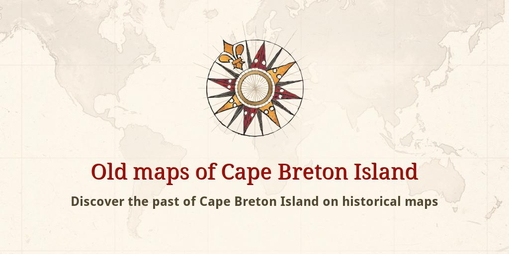 Old maps of Cape Breton Island Cape Breton Map on st. john's map, ontario map, north shore trail map, cape blanco map, bras d'or lake map, cape north nova scotia, cape brenton, nova scotia map, cape cod central railroad map, newfoundland map, canada map, rupert's land map, fortress louisbourg map, physical characteristics of a map, sydney map, muskoka map, cape farewell map, peggy's cove map, gournia map, london map,
