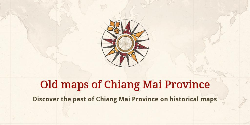 Old maps of Chiang Mai