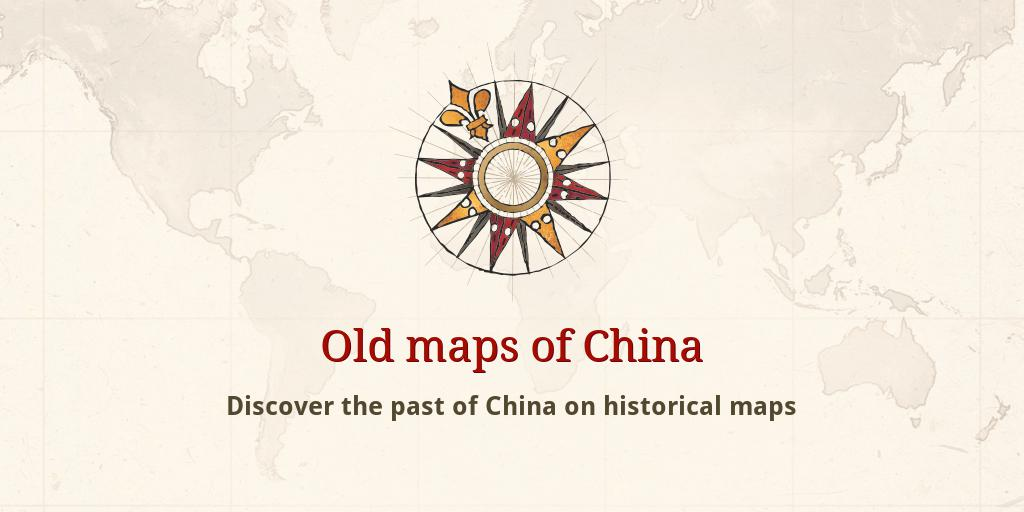 Old Maps Of China - Old maps for sale online