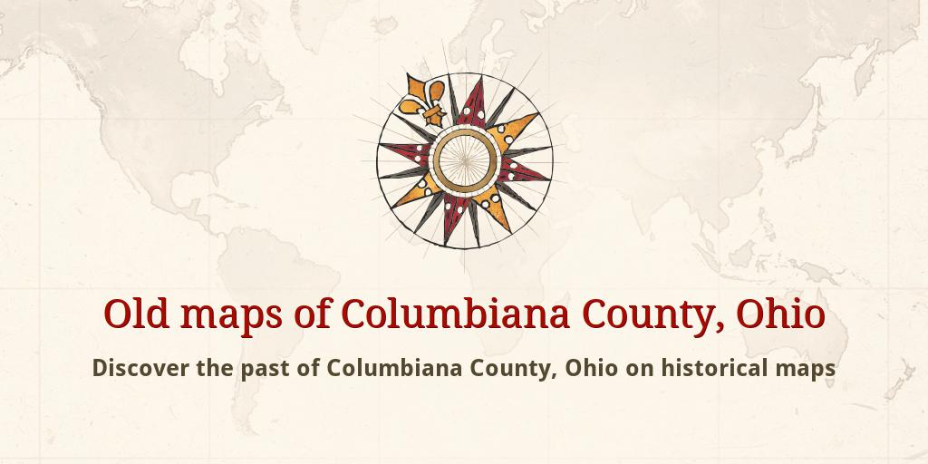 Old Maps Of Columbiana County