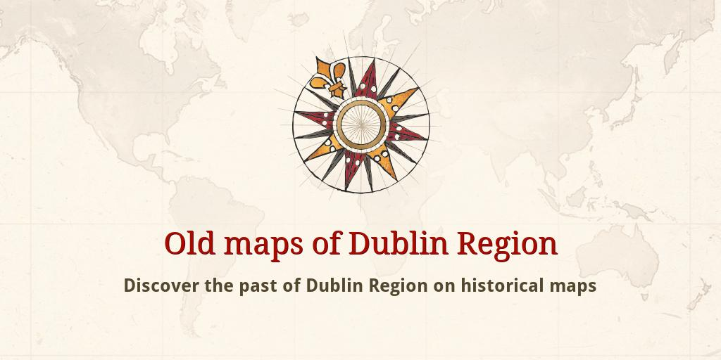 Old Maps Of Dublin - Old maps of dublin