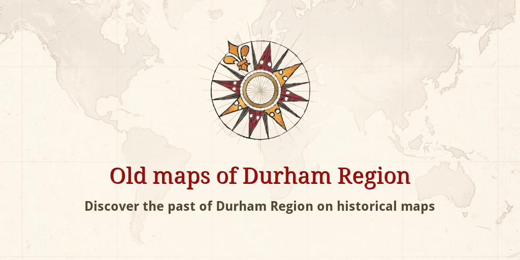 Old Maps Of Durham