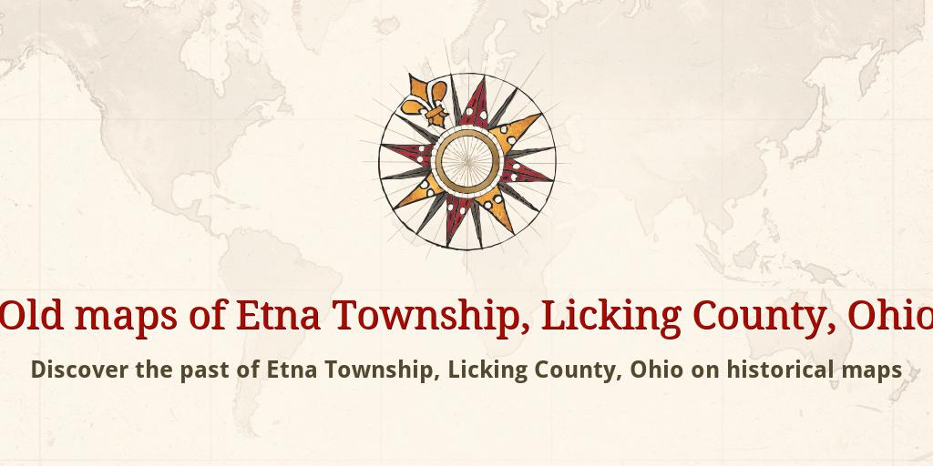 Old Maps Of Etna Township