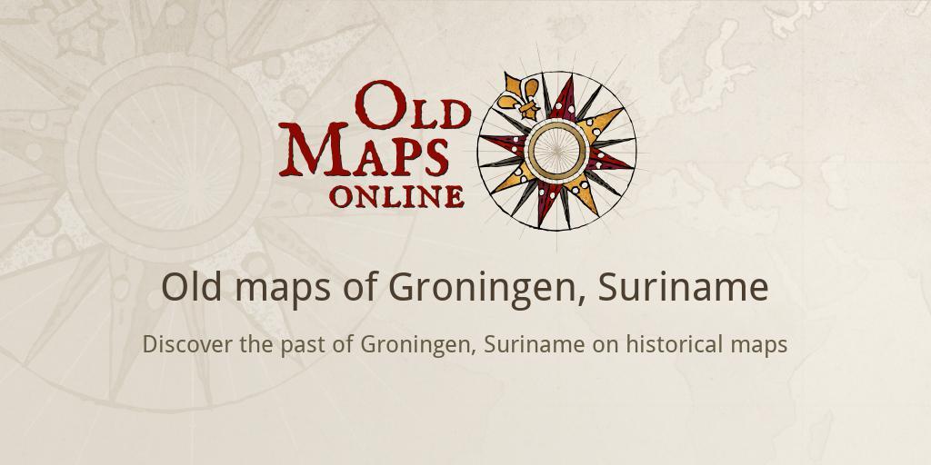 Old maps of Groningen