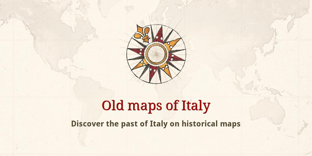 Old Maps Of Italy
