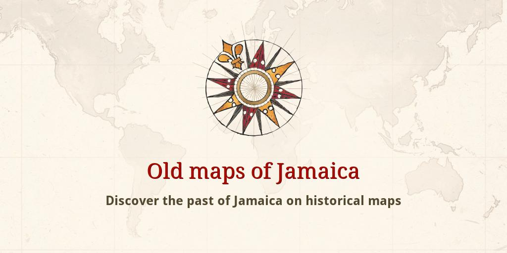 Old maps of Jamaica