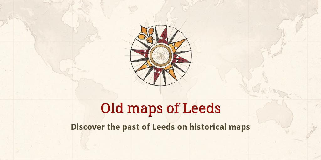 Old Maps Of Leeds
