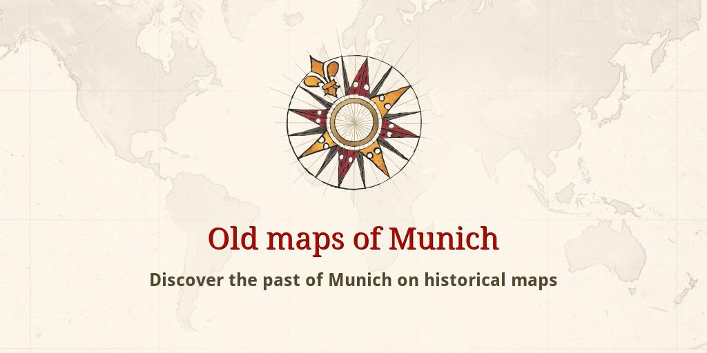 Old maps of Munich