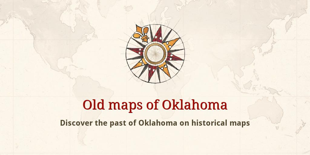 Old Maps Of Oklahoma
