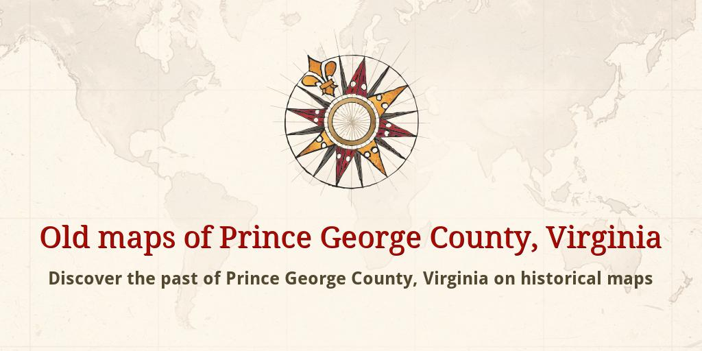 Old Maps Of Prince George County