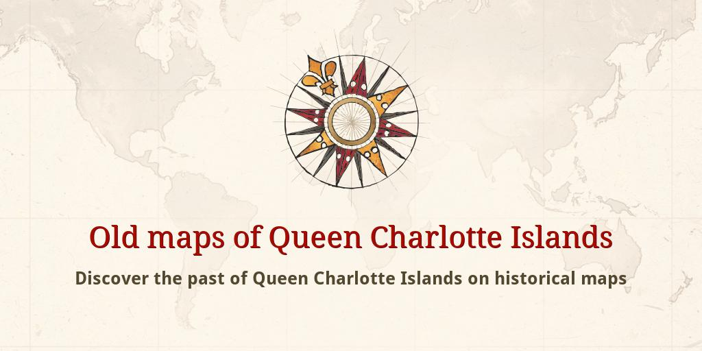 Old maps of Queen Charlotte Islands Queen Charlotte Islands Map on