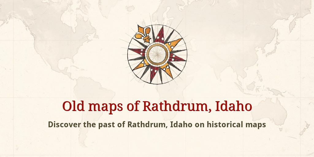 Old Maps Of Rathdrum