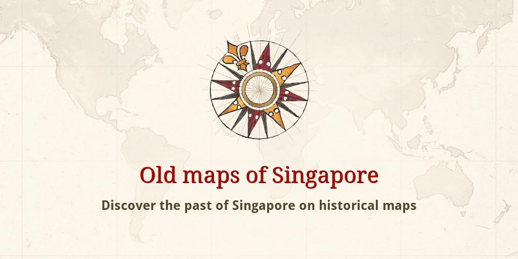 Old maps of Singapore