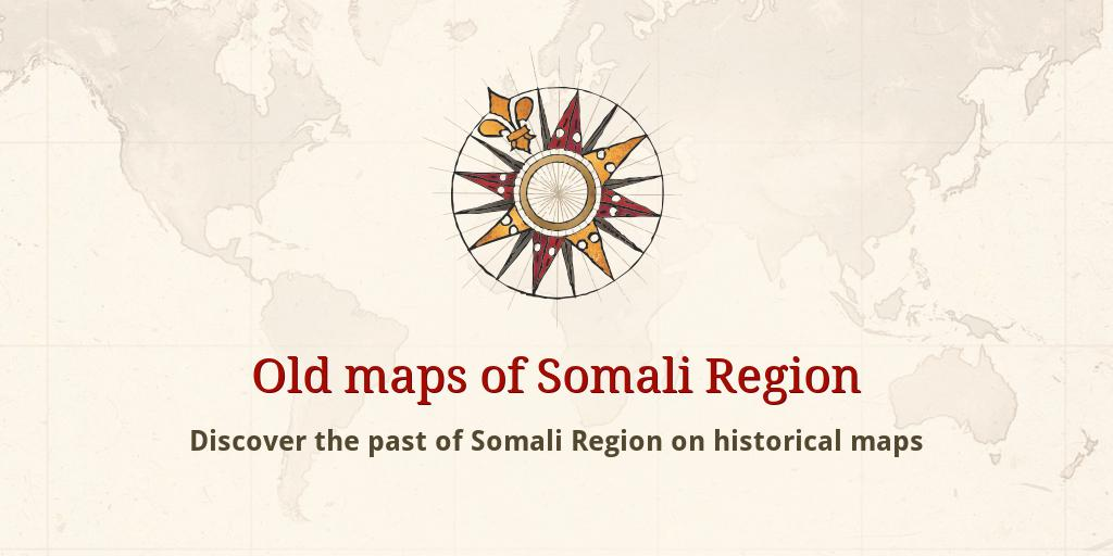 Old maps of Somali Region