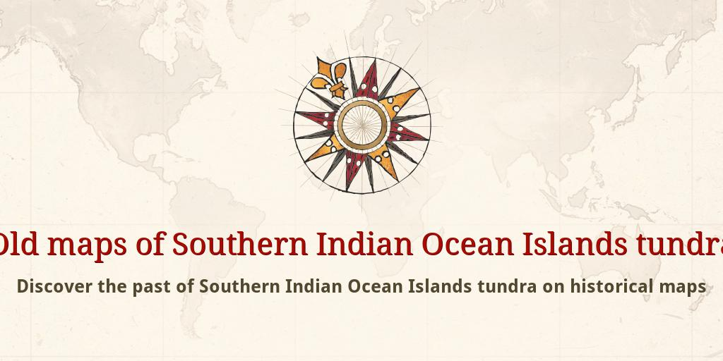 old maps of southern indian ocean