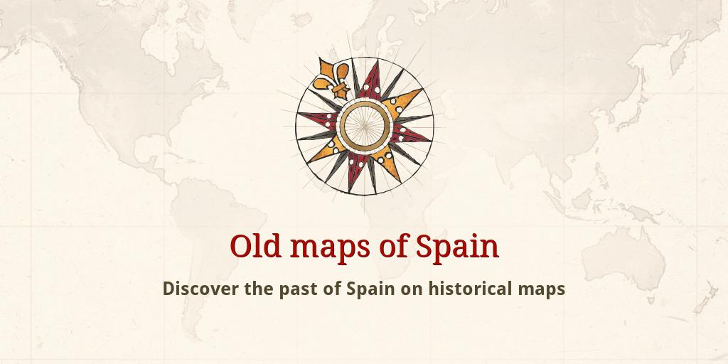 Old Maps Of Spain