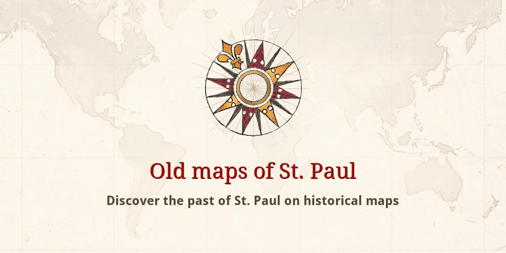 Old maps of St Paul