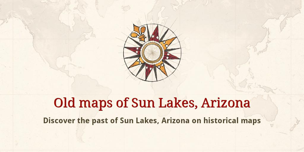 Old Maps Of Sun Lakes