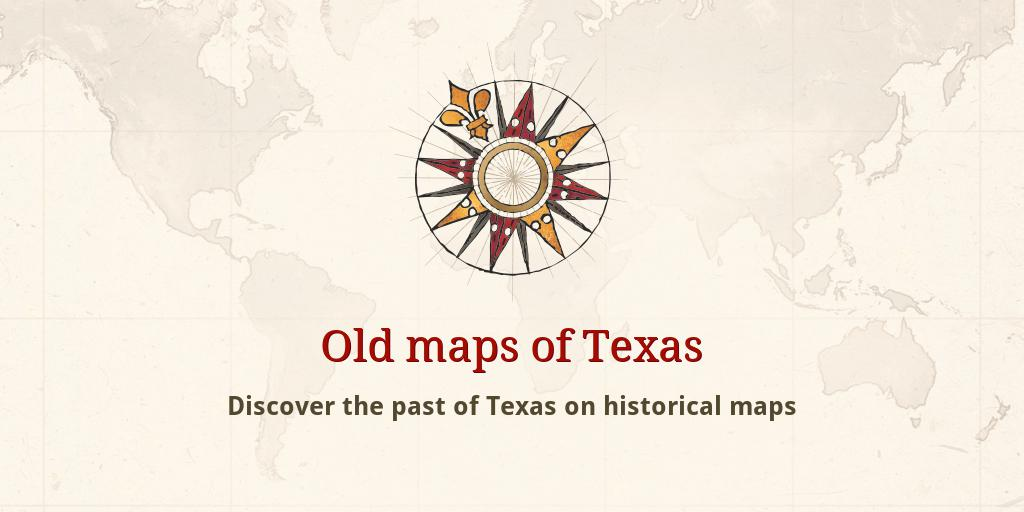 Old maps of Texas