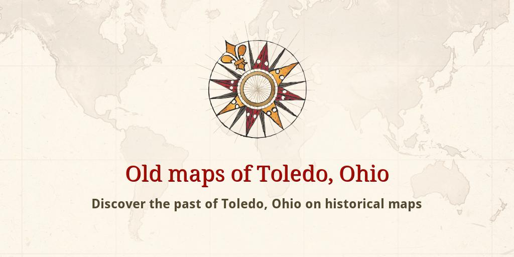 Rossford Ohio Map.Old Maps Of Toledo