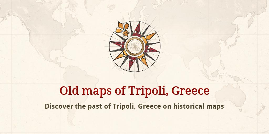 Old Maps Of Tripoli