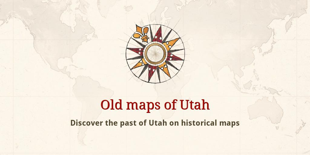 Sanpete County Utah Map.Old Maps Of Utah