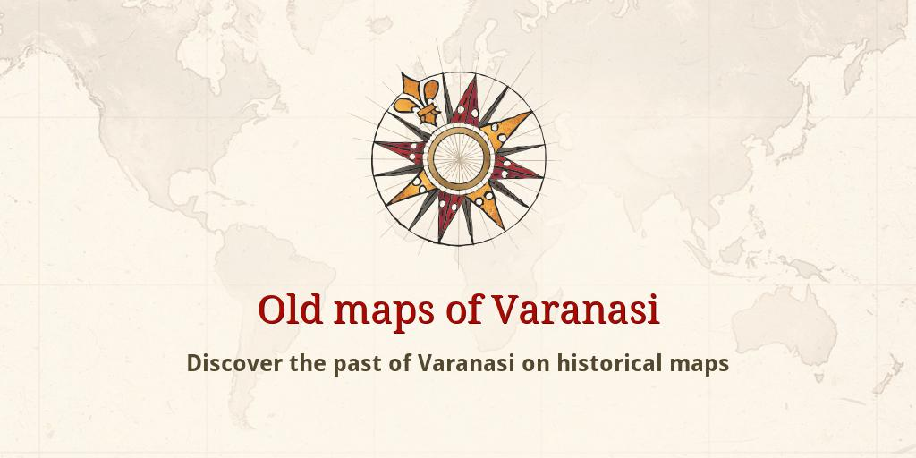 Varanasijpg - Varanasi map