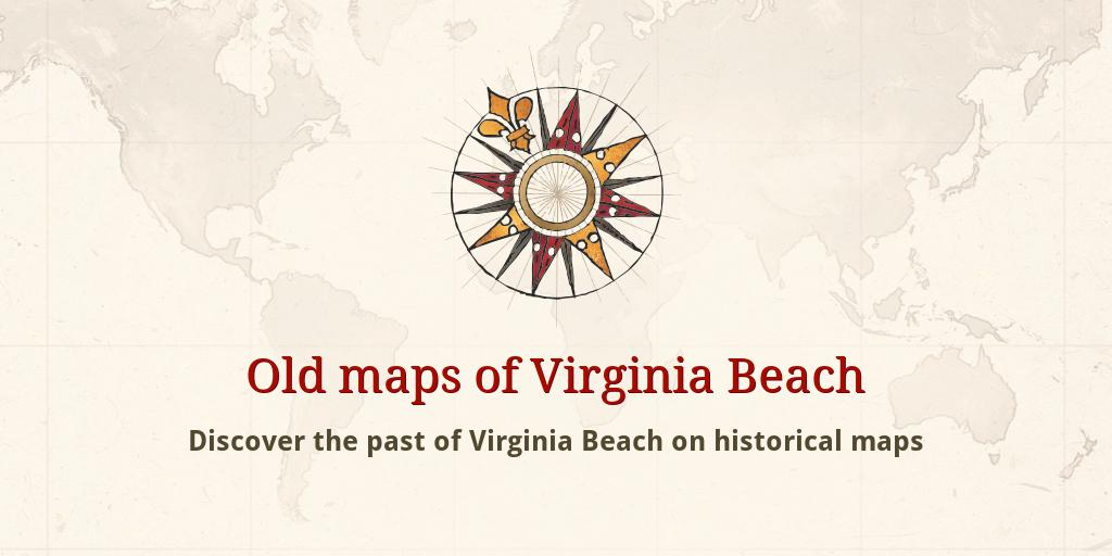 Old Maps Of Virginia Beach