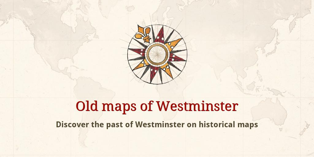 Pimlico London Map.Old Maps Of Westminster
