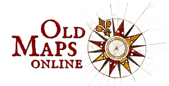 Oldmapsonline logo welcomeg discovering the cartography of the past welcome to old maps gumiabroncs Images